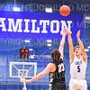 Hamilton College G/F Eric Anderson (5)<br /> <br /> 11/20/19 8:42:19 PM Men's Basketball:  Bard College v Hamilton College at Margaret Bundy Scott Field House, Hamilton College, Clinton, NY<br /> <br /> Final:  Bard 57   Hamilton 101<br /> <br /> Photo by Josh McKee