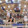Hamilton College guard Conner Rood (11)<br /> <br /> 11/20/19 9:50:36 PM Men's Basketball:  Bard College v Hamilton College at Margaret Bundy Scott Field House, Hamilton College, Clinton, NY<br /> <br /> Final:  Bard 57   Hamilton 101<br /> <br /> Photo by Josh McKee