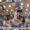Hamilton College guard Elliott Tirbaso (13)<br /> <br /> 11/20/19 9:38:36 PM Men's Basketball:  Bard College v Hamilton College at Margaret Bundy Scott Field House, Hamilton College, Clinton, NY<br /> <br /> Final:  Bard 57   Hamilton 101<br /> <br /> Photo by Josh McKee