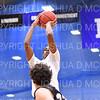 Hamilton College guard Nkosi Cooper (30)<br /> <br /> 11/20/19 8:55:24 PM Men's Basketball:  Bard College v Hamilton College at Margaret Bundy Scott Field House, Hamilton College, Clinton, NY<br /> <br /> Final:  Bard 57   Hamilton 101<br /> <br /> Photo by Josh McKee
