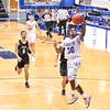 Hamilton College guard Nkosi Cooper (30)<br /> <br /> 11/20/19 9:26:25 PM Men's Basketball:  Bard College v Hamilton College at Margaret Bundy Scott Field House, Hamilton College, Clinton, NY<br /> <br /> Final:  Bard 57   Hamilton 101<br /> <br /> Photo by Josh McKee