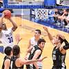 Hamilton College guard Nkosi Cooper (30)<br /> <br /> 11/20/19 9:28:27 PM Men's Basketball:  Bard College v Hamilton College at Margaret Bundy Scott Field House, Hamilton College, Clinton, NY<br /> <br /> Final:  Bard 57   Hamilton 101<br /> <br /> Photo by Josh McKee
