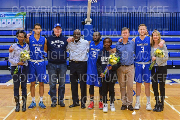 Hamilton Men's Basketball v Trinity 2-15-20