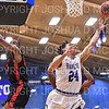 Hamilton College guard Kena Gilmour (24)<br /> <br /> 2/2/20 2:03:46 PM Men's Basketball:  Wesleyan University v Hamilton College at Margaret Bundy Scott Field House, Hamilton College, Clinton, NY<br /> <br /> Final:  Wesleyan 67    Hamilton 78 <br /> <br /> Photo by Josh McKee