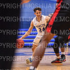 Hamilton College guard Kena Gilmour (24)<br /> <br /> 2/2/20 2:03:45 PM Men's Basketball:  Wesleyan University v Hamilton College at Margaret Bundy Scott Field House, Hamilton College, Clinton, NY<br /> <br /> Final:  Wesleyan 67    Hamilton 78 <br /> <br /> Photo by Josh McKee