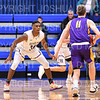 Hamilton College guard Nkosi Cooper (30)<br /> <br /> 1/10/20 8:03:32 PM Men's Basketball:  Williams College v Hamilton College at Margaret Bundy Scott Field House, Hamilton College, Clinton, NY<br /> <br /> Final:  Williams 78   Hamilton 79<br /> <br /> Photo by Josh McKee