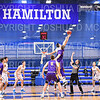 Team, Hamilton College G/F Spencer Kendall (21)<br /> <br /> 1/10/20 8:03:26 PM Men's Basketball:  Williams College v Hamilton College at Margaret Bundy Scott Field House, Hamilton College, Clinton, NY<br /> <br /> Final:  Williams 78   Hamilton 79<br /> <br /> Photo by Josh McKee