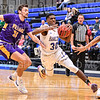 Hamilton College guard Nkosi Cooper (30)<br /> <br /> 1/10/20 8:07:00 PM Men's Basketball:  Williams College v Hamilton College at Margaret Bundy Scott Field House, Hamilton College, Clinton, NY<br /> <br /> Final:  Williams 78   Hamilton 79<br /> <br /> Photo by Josh McKee