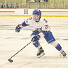 Hamilton College forward Chad Varney (22)<br /> <br /> 12/6/19 8:04:59 PM Men's Hockey: #13 Williams College v Hamilton College at Russell Sage Rink, Hamilton College, Clinton, NY<br /> <br /> Final:  Williams 0   Hamilton 1<br /> <br /> Photo by Josh McKee