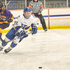 Hamilton College forward Chad Varney (22)<br /> <br /> 12/6/19 8:05:23 PM Men's Hockey: #13 Williams College v Hamilton College at Russell Sage Rink, Hamilton College, Clinton, NY<br /> <br /> Final:  Williams 0   Hamilton 1<br /> <br /> Photo by Josh McKee