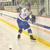 Hamilton College forward Chad Varney (22)<br /> <br /> 12/6/19 8:05:08 PM Men's Hockey: #13 Williams College v Hamilton College at Russell Sage Rink, Hamilton College, Clinton, NY<br /> <br /> Final:  Williams 0   Hamilton 1<br /> <br /> Photo by Josh McKee