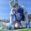 Hamilton College FO Quin Crowley (10)<br /> <br /> 3/7/20 1:38:52 PM Men's Lacrosse: Bowdoin College v Hamilton College at Withiam Field, Hamilton College, Clinton, NY<br /> <br /> Final:  Bowdoin 7   Hamilton 8<br /> <br /> Photo by Josh McKee