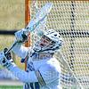 Hamilton College goalkeeper Luke Roberts (30)<br /> <br /> 3/7/20 1:35:39 PM Men's Lacrosse: Bowdoin College v Hamilton College at Withiam Field, Hamilton College, Clinton, NY<br /> <br /> Final:  Bowdoin 7   Hamilton 8<br /> <br /> Photo by Josh McKee
