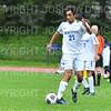 Hamilton College M Ravi Travers (21)<br /> <br /> 10/2/19 5:26:30 PM Men's Soccer: Utica College v Hamilton College at Love Field, Hamilton College, Clinton, NY<br /> <br /> Final:  Utica 0  Hamilton 4<br /> <br /> Photo by Josh McKee