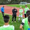 Hamilton College assistant coach Mike Fornino<br /> <br /> 10/2/19 4:55:56 PM Men's Soccer: Utica College v Hamilton College at Love Field, Hamilton College, Clinton, NY<br /> <br /> Final:  Utica 0  Hamilton 4<br /> <br /> Photo by Josh McKee