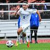 Hamilton College M Jeff Plump (8)<br /> <br /> 10/2/19 5:39:47 PM Men's Soccer: Utica College v Hamilton College at Love Field, Hamilton College, Clinton, NY<br /> <br /> Final:  Utica 0  Hamilton 4<br /> <br /> Photo by Josh McKee