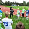 Hamilton College head coach Perry Nizzi<br /> <br /> 10/2/19 4:58:33 PM Men's Soccer: Utica College v Hamilton College at Love Field, Hamilton College, Clinton, NY<br /> <br /> Final:  Utica 0  Hamilton 4<br /> <br /> Photo by Josh McKee