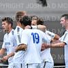 Celebration<br /> <br /> 10/2/19 4:36:41 PM Men's Soccer: Utica College v Hamilton College at Love Field, Hamilton College, Clinton, NY<br /> <br /> Final:  Utica 0  Hamilton 4<br /> <br /> Photo by Josh McKee