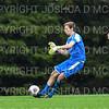 Hamilton College goalkeeper Linds Cadwell (1)<br /> <br /> 10/2/19 5:15:30 PM Men's Soccer: Utica College v Hamilton College at Love Field, Hamilton College, Clinton, NY<br /> <br /> Final:  Utica 0  Hamilton 4<br /> <br /> Photo by Josh McKee