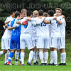 Team<br /> <br /> 10/2/19 4:03:36 PM Men's Soccer: Utica College v Hamilton College at Love Field, Hamilton College, Clinton, NY<br /> <br /> Final:  Utica 0  Hamilton 4<br /> <br /> Photo by Josh McKee
