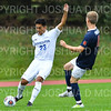 Hamilton College B Jose Torres (23)<br /> <br /> 10/2/19 4:06:42 PM Men's Soccer: Utica College v Hamilton College at Love Field, Hamilton College, Clinton, NY<br /> <br /> Final:  Utica 0  Hamilton 4<br /> <br /> Photo by Josh McKee