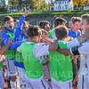 Celebration<br /> <br /> 10/19/19 3:47:53 PM Men's Soccer: Wesleyan University v Hamilton College at Love Field, Hamilton College, Clinton, NY<br /> <br /> Final:  Wesleyan  0  Hamilton 1 (OT)<br /> <br /> Photo by Josh McKee