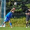Hamilton College goalkeeper Thomas Benson (0)<br /> <br /> 10/19/19 3:32:12 PM Men's Soccer: Wesleyan University v Hamilton College at Love Field, Hamilton College, Clinton, NY<br /> <br /> Final:  Wesleyan  0  Hamilton 1 (OT)<br /> <br /> Photo by Josh McKee