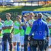 Team, Celebration<br /> <br /> 10/19/19 2:01:03 PM Men's Soccer: Wesleyan University v Hamilton College at Love Field, Hamilton College, Clinton, NY<br /> <br /> Final:  Wesleyan  0  Hamilton 1 (OT)<br /> <br /> Photo by Josh McKee
