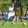 Hamilton College M Jake Samieske (14)<br /> <br /> 10/19/19 2:19:17 PM Men's Soccer: Wesleyan University v Hamilton College at Love Field, Hamilton College, Clinton, NY<br /> <br /> Final:  Wesleyan  0  Hamilton 1 (OT)<br /> <br /> Photo by Josh McKee