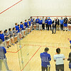 2/1/20 1:58:13 PM Squash:  Colby College v Hamilton College at Little Squash Center, Hamilton College, Clinton, NY<br /> <br /> Photo by Josh McKee