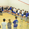 2/1/20 1:57:36 PM Squash:  Colby College v Hamilton College at Little Squash Center, Hamilton College, Clinton, NY<br /> <br /> Photo by Josh McKee
