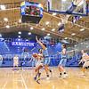 Hamilton College forward Kayla Glemaud (15)<br /> <br /> 1/17/20 8:33:02 PM Women's Basketball:  #1 Tufts University v Hamilton College at Margaret Bundy Scott Field House, Hamilton College, Clinton, NY<br /> <br /> Final: #1 Tufts 63  Hamilton 62<br /> <br /> Photo by Josh McKee