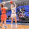 Hamilton College guard Carly O'Hern (11)<br /> <br /> 12/9/19 8:10:35 PM Women's Basketball:  Utica College v Hamilton College at Margaret Bundy Scott Field House, Hamilton College, Clinton, NY<br /> <br /> Final: Utica 53  Hamilton 92<br /> <br /> Photo by Josh McKee