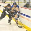Hamilton College forward Hyla Mosher (14)<br /> <br /> 1/11/20 4:04:22 PM Women's Hockey:  Bowdoin College v Hamilton College at Russell Sage Rink, Hamilton College, Clinton, NY<br /> <br /> Final:  Bowdoin 4   Hamilton 3<br /> <br /> Photo by Josh McKee