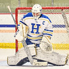Hamilton College goaltender Sammy Johnson (35)<br /> <br /> 11/26/19 1:33:32 PM Women's Hockey:  SUNY Morrisville v Hamilton College at Russell Sage Rink, Hamilton College, Clinton, NY<br /> <br /> Final:  Morrisville 0   Hamilton 6<br /> <br /> Photo by Josh McKee