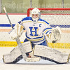 Hamilton College goaltender Sammy Johnson (35)<br /> <br /> 11/26/19 1:33:03 PM Women's Hockey:  SUNY Morrisville v Hamilton College at Russell Sage Rink, Hamilton College, Clinton, NY<br /> <br /> Final:  Morrisville 0   Hamilton 6<br /> <br /> Photo by Josh McKee