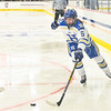 Hamilton College forward Alayna Trice (5)<br /> <br /> 11/26/19 2:05:10 PM Women's Hockey:  SUNY Morrisville v Hamilton College at Russell Sage Rink, Hamilton College, Clinton, NY<br /> <br /> Final:  Morrisville 0   Hamilton 6<br /> <br /> Photo by Josh McKee