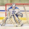 Hamilton College goaltender Sidney Molnar (30)<br /> <br /> 11/26/19 1:28:33 PM Women's Hockey:  SUNY Morrisville v Hamilton College at Russell Sage Rink, Hamilton College, Clinton, NY<br /> <br /> Final:  Morrisville 0   Hamilton 6<br /> <br /> Photo by Josh McKee