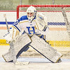 Hamilton College goaltender Sammy Johnson (35)<br /> <br /> 11/26/19 1:28:00 PM Women's Hockey:  SUNY Morrisville v Hamilton College at Russell Sage Rink, Hamilton College, Clinton, NY<br /> <br /> Final:  Morrisville 0   Hamilton 6<br /> <br /> Photo by Josh McKee