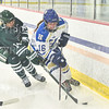 Hamilton College forward Maura Holden (16)<br /> <br /> 11/26/19 2:05:16 PM Women's Hockey:  SUNY Morrisville v Hamilton College at Russell Sage Rink, Hamilton College, Clinton, NY<br /> <br /> Final:  Morrisville 0   Hamilton 6<br /> <br /> Photo by Josh McKee
