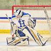 Hamilton College goaltender Sidney Molnar (30)<br /> <br /> 11/26/19 1:28:34 PM Women's Hockey:  SUNY Morrisville v Hamilton College at Russell Sage Rink, Hamilton College, Clinton, NY<br /> <br /> Final:  Morrisville 0   Hamilton 6<br /> <br /> Photo by Josh McKee