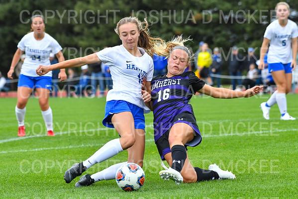 Hamilton Women's Soccer v Amherst 9-14-19