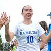 Hamilton College defender Aidan Leahey (10)<br /> <br /> 9/14/19 10:59:51 AM Women's Soccer: Amherst College v Hamilton College at Love Field, Hamilton College, Clinton, NY<br /> <br /> Final: #10 Amherst 1   Hamilton 0<br /> <br /> Photo by Josh McKee
