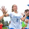 Hamilton College M Kayleigh Harris (3)<br /> <br /> 9/14/19 10:59:22 AM Women's Soccer: Amherst College v Hamilton College at Love Field, Hamilton College, Clinton, NY<br /> <br /> Final: #10 Amherst 1   Hamilton 0<br /> <br /> Photo by Josh McKee