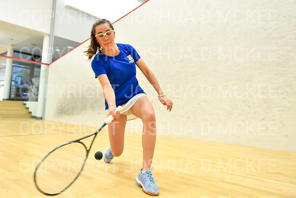Hamilton Women's Squash Practice 2-13-20