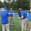 Hamilton College head coach Dave Murray, Coaches<br /> <br /> 9/18/21 11:39:53 AM Football:  Bowdoin College v Hamilton College at Steuben Field, Hamilton College, Clinton, NY<br /> <br /> Final:  Bowdoin 7    Hamilton 16<br /> <br /> Photo by Josh McKee