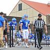 Hamilton College quarterback Gus Mahler (9)<br /> <br /> 9/18/21 11:57:20 AM Football:  Bowdoin College v Hamilton College at Steuben Field, Hamilton College, Clinton, NY<br /> <br /> Final:  Bowdoin 7    Hamilton 16<br /> <br /> Photo by Josh McKee
