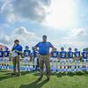 Hamilton College head coach Dave Murray, Team<br /> <br /> 9/18/21 11:33:56 AM Football:  Bowdoin College v Hamilton College at Steuben Field, Hamilton College, Clinton, NY<br /> <br /> Final:  Bowdoin 7    Hamilton 16<br /> <br /> Photo by Josh McKee