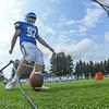 Hamilton College kicker Sam Thoreen (97)<br /> <br /> 9/18/21 11:28:11 AM Football:  Bowdoin College v Hamilton College at Steuben Field, Hamilton College, Clinton, NY<br /> <br /> Final:  Bowdoin 7    Hamilton 16<br /> <br /> Photo by Josh McKee