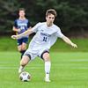 Hamilton College M Sam Webber (11)<br /> <br /> 9/21/21 4:36:10 PM Men's Soccer: Ithaca College v Hamilton College at Love Field, Hamilton College, Clinton, NY<br /> <br /> Final: Ithaca 1     Hamilton 1<br /> <br /> Photo by Josh McKee